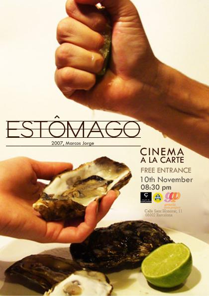 Cinema á la carte - Estômago